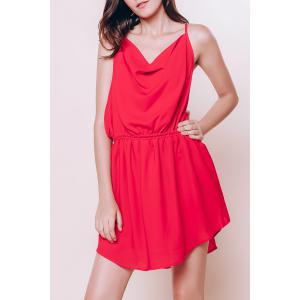 Mini Open Back Slip Summer Casual Dress