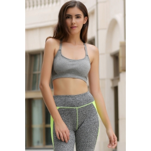 Active Spaghetti Strap Skinny Sports Bra For Women -