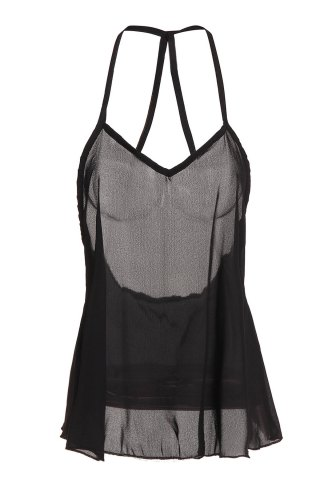 New Sexy Style Solid Color Backless Tank Top For Women
