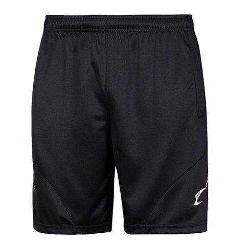 Shops Sports Style Printing Quick Dry Elastic Waist Shorts -   Mobile