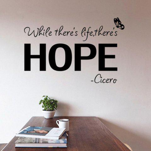 Sale Vinly Letters Pattern Quote Wall Stickers For Bedrooms
