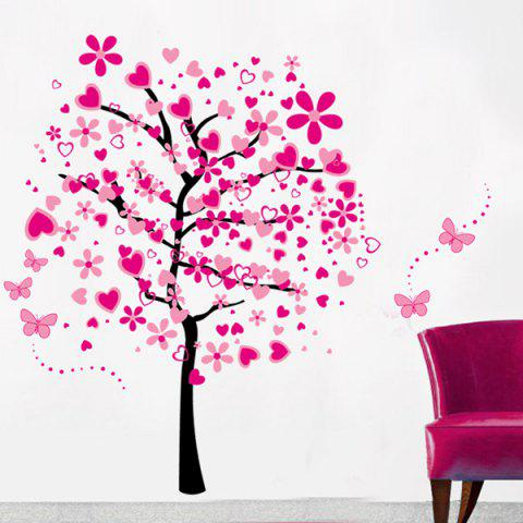 Store Vinyl Tree Pattern Wall Art Stickers For Kids Room COLORMIX