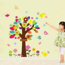 Colorful Tree Wall Mural Stickers For Kid's Rooms -