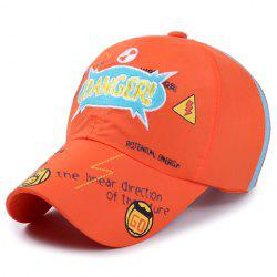 Stylish Letter Embroidery Scrawl Pattern Baseball Cap For Kids -