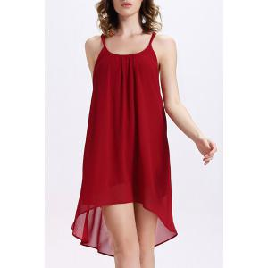Chiffon Backless Slip Flowy Summer Dress
