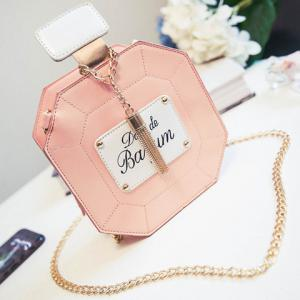Sweet Tassel and Chain Design Crossbody Bag For Women - SHALLOW PINK