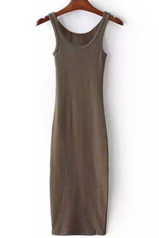 Affordable Racer Back Bodycon Tank Dress