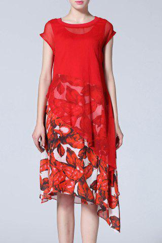 Affordable Asymmetric Dress and Floral Dress
