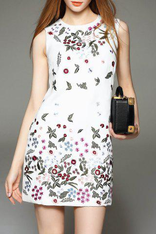 Outfit Embroidered Mini Dress