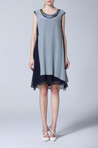 Hot Sleeveless Shift Dress
