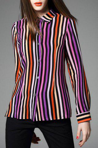 Buy Vertical Stripe Printed Shirt