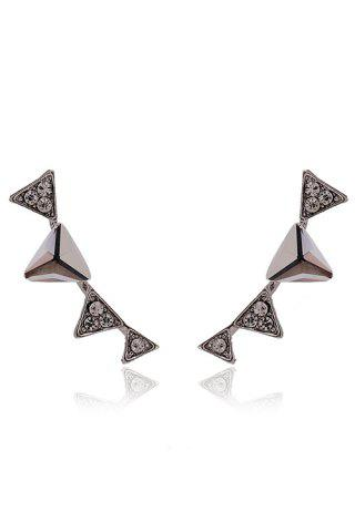 Shop Triangle Rhinestone Earrings
