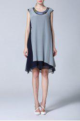 Sleeveless Shift Dress -