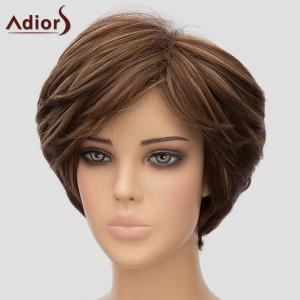 Fluffy Adiors Women's Short High Temperature Fiber Wig -