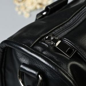 Casual Black Color and Buckle Design Briefcase For Men -