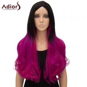 Women's Stylish Adiors Ombre Curly Long High Temperature Fiber Cosplay Wig