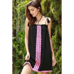 Ethnic Embroidered Cami Dress For Women -