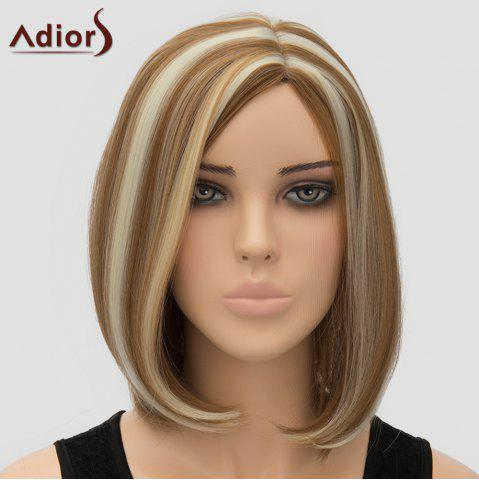 Fashion Fashion Adiors Side Bang Bobo Style Highlight Heat Resistant Synthetic Wig For Women