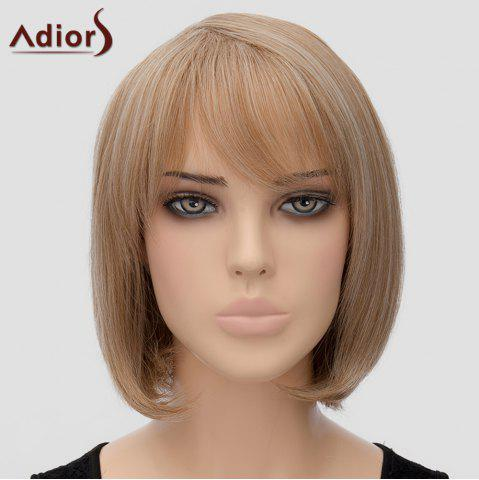 Cheap Fashion Adiors Side Bang Bobo Style Heat Resistant Synthetic Wig For Women