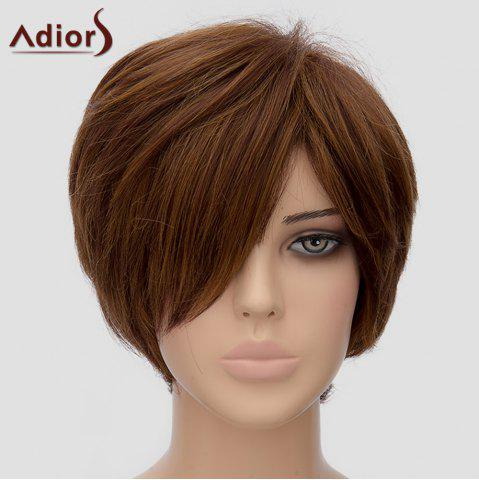 Sale Fashion Adiors Side Bang Short Heat Resistant Synthetic Wig For Women