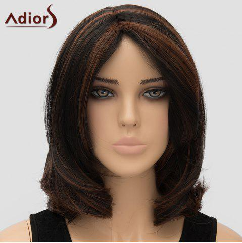 Chic Fashion Adiors Centre Parting Heat Resistant Synthetic Wig For Women