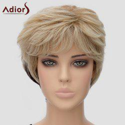 Fluffy Adiors Women's Short Heat Resistant Synthetic Wig