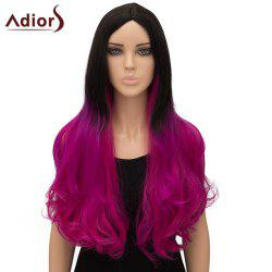 Women's Stylish Adiors Ombre Curly Long High Temperature Fiber Cosplay Wig - OMBRE 1211#