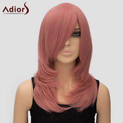 Women's Trendy Adiors Long Layered Side Bang High Temperature Fiber Cosplay Wig