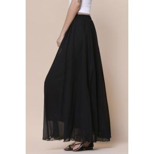 Maxi Tulle Skirt - BLACK ONE SIZE(FIT SIZE XS TO M)
