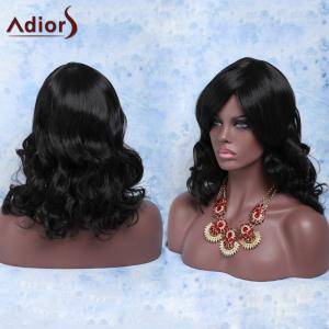 Stylish Heat Resistant Fiber Curly Wig For Women