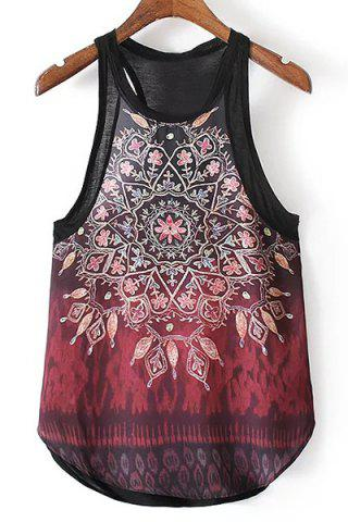 Latest Kaleidoscope Print Tank Top