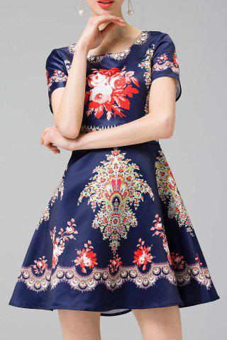 Buy Ethnic Printed A Line Dress