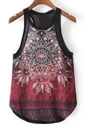 Kaleidoscope Print Tank Top -