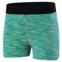 Active Elastic Waist Running Sports Shorts -