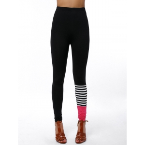 Active High Waist Workout Color Block Pants