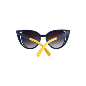 Chic Hollow Out Frame Color Block Sunglasses For Women -