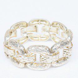 Alloy Thick Chain Bracelet