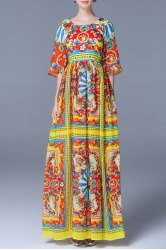 Afrcan Style Maxi Dress -
