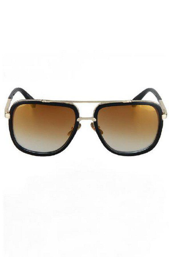 Hot Chic Alloy Match Quadrate Frame Sunglasses For Women