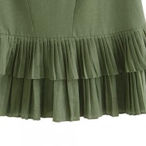 Pleated Layered Top -