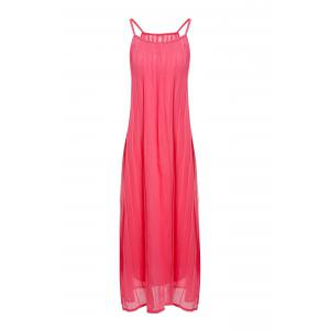 Bohemian Style Spaghetti Strap Women's Pleated Dress