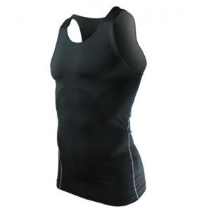 Brief Round Neck Slimming Quick-Dry Stretchy Tank Top For Men -