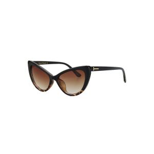 Audrey Hepburn Cat Eye Inlay Flecky Sunglasses