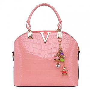 Fashionable Embossing and Metal Design Tote Bag For Women