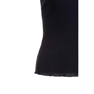 Fashionable Lace Spliced Embroidered Slimming Women's T-Shirt -