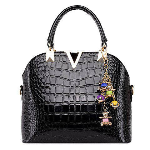 Online Fashionable Embossing and Metal Design Tote Bag For Women
