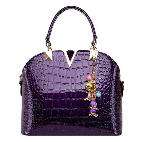 New Fashionable Embossing and Metal Design Tote Bag For Women