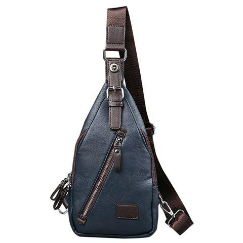 Latest Trendy Buckle and Magnetic Closure Design Messenger Bag For Men
