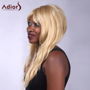 Adiors Long Side Bang Heat Resistant Synthetic Women's Wig -