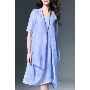 Baggy Linen Dress -